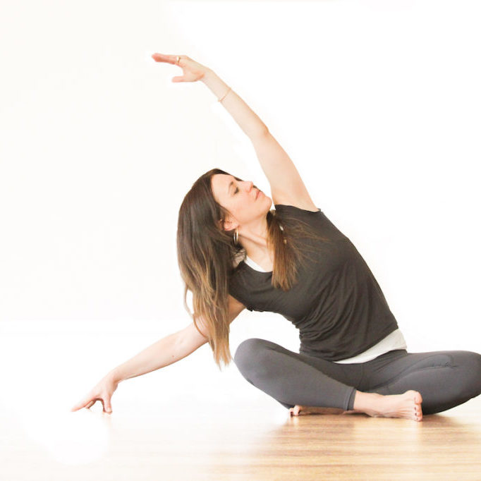 Andrina Tisi Yoga Easy Pose